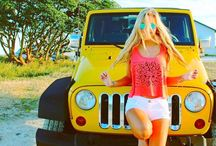 девочки,авто и оружие