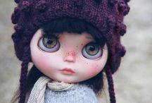 Blythe artist dolls
