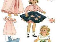 Dolls clothes & patterns