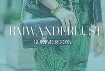 #RMWanderlust / Bloggers style their favorite Rebecca Minkoff pieces for summer. / by Rebecca Minkoff