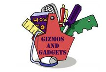 Great Gizmos & Gadget for Authors and Writers / Authors and Writers love short cuts, apps, and goodies that make their writing and marketing life easier.  Check these out. author gadgets, great gizmos, cool ideas, writing tech