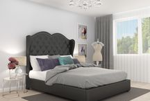 Modern bedrooms/ Łóżka Lectus / Simple and modern bedrooms ideas. Find more on www.lectus24.pl