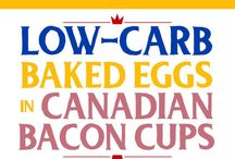 ***Best Low-Carb Breakfast Recipes / This board has the best low-carb and Keto Breakfast Recipes from blogs around the web.