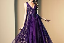 Purple dress☆