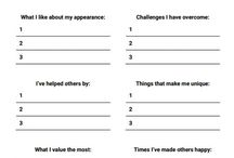 Counseling/Therapy worksheets