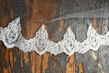 Lace Wedding Ideas / I just love lace details in a wedding - in veils, headpieces, decorations and more! We've gathered some beautiful lace wedding ideas for your wedding inspiration. Visit us at www.affordableelegancebridal.com for elegant, affordable bridal accessories!.