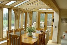 Oak Frame Conservatories & Garden Rooms / Conservatories & Garden Rooms provide a great way of creating a light and airy space within your home, with an amazing sense of connection to the outside - LJ