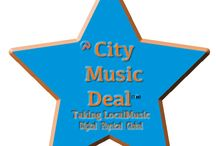 CityMusicDeal(TM) / About our City Music Deal.com it's about giving each USA Music City a deal.