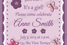 Babyshower invite / by Lisa Runk