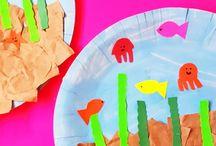 Paper Plate Crafts for Kids / Make lots of fun crafts for kids with paper plates! #CraftsForKids #PaperPlateCrafts #EasyCraftsForKids