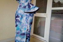 african fabric inspiried