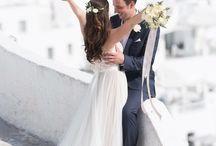 2020 / Aquele sonho antigo de casar de frente para o mar de Santorini <3
