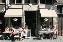nice places to eat or drink / by Eva Van Belle