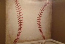 Oliver's baseball room