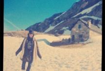 Lissa - en la nieve / Por los montes pirineos.