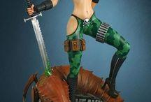Figurines (Sexy  Ladies)