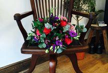 Flowers & furniture . / Flowers & furniture go together