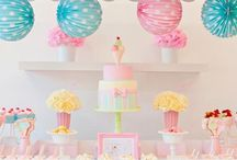 Party Ideas And Desert Tables! / I love to give theme party's for my girls! Here some Party ideas and desert table inspiration!