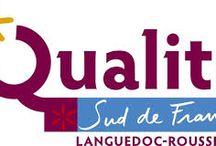Démarche Qualité Sud de France à l'Hôtel Les 2 Rives / Depuis fin 2013 l'Hôtel Les 2 Rives a été labialisé Qualité Sud de France; une démarche régionale qui nous tiens à Coeur