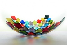 Glass bowls (fused)