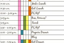 My - Household Schedule