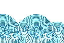 Ocean drawings