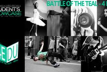 Battle of the Teal / We created Student's Showcase to bring awareness to national student loan debt issue, and award youth talents for their hard work by sponsoring and boosting their academic achievements.