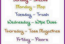 Cleaning routine