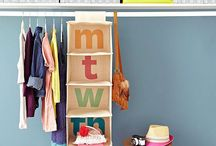 Organisation / Getting things in order around the house