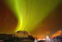 Aurora Boreal / Fascinante o jogo de cores e luzes