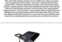 Phil and teds double strollers