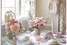 Provence interior kitchen