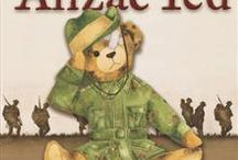 WW1 and Anzac books in school library