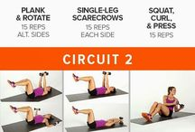Gym workouts / Dumbbells
