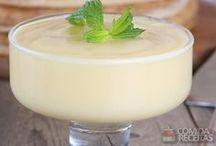 Mousse de leite condensado e coco