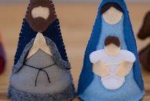 Nativity sets / Sweet nativity sets I would love to make!