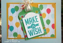 Stampin' Up! Cherry on Top dsp