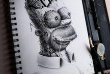 Dibujos / Dibujos a lápiz