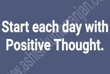 Positive Thought / Hindi Positive Thought Board with Ashish Kumar Ranjan.