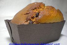 BIZCOCHOS O CAKES / Elaboración de bizcochos tradicionales y algunos con imaginación