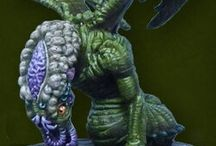 Cthulhu Wars miniatures - Starspawn Larva