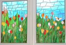 Stained Glass Windows / by Lori Hirashima Jay