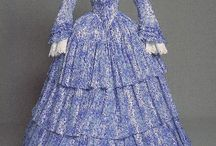 1850s summer dress - project