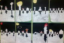 onderwijs winter/kerst
