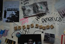 WineenjaaramerikaviaCosmogirl/CathalijneCornelis / Mijn moodboard voor Win een Jaar High School in Amerika!