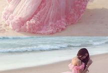 Flower wedding dresses