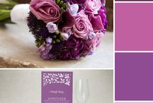 WEDDING IDEAS FOR EGGPLANT, VIOLET, PLUMERIA, ORCHID