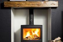 Woodburner fireplace