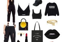 How We Style Clon8 ♥ Black / Your personal PlayWear created by Clon8 team including pieces from our collections to mix&much finding your style and look of the day.
