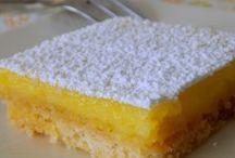 carré  au citron